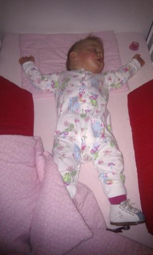 Tánička - spánok